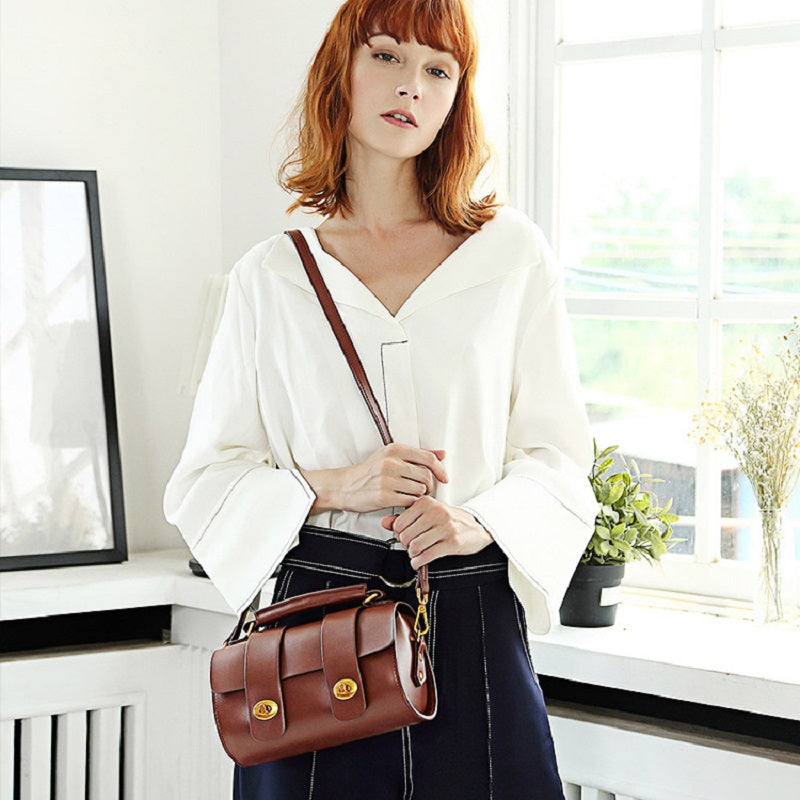 Retro Pillow Design Shoulder Bag