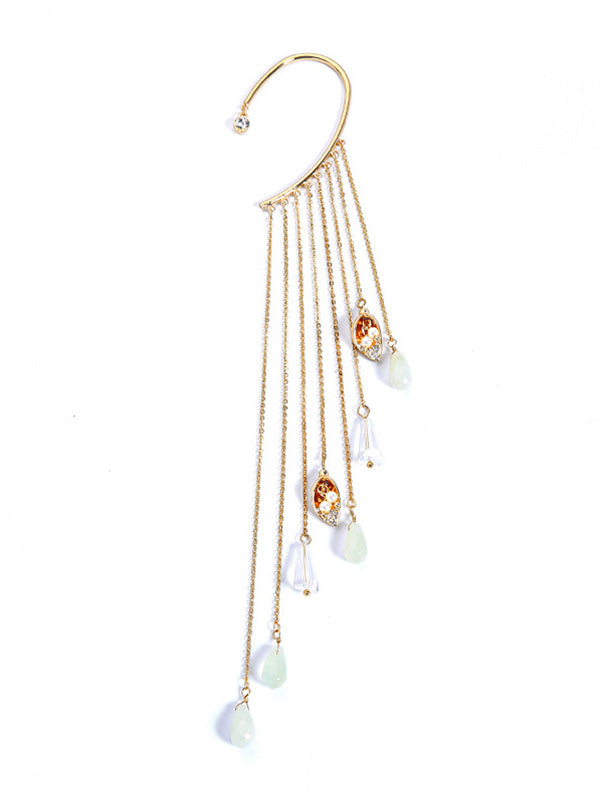Variety of Options Exaggerated 1pcs Long Earrings