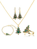 Four-piece Set Christmas Jewelry