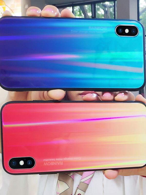 Colorful Laser Phone Case