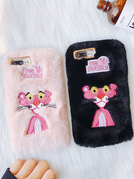Fluffy Pink Panther Phone Case
