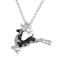 Sika Deer Pattern Necklace