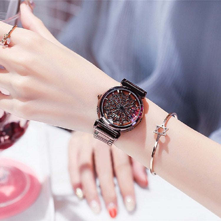 Chic Rotatable Dial Women's Watch