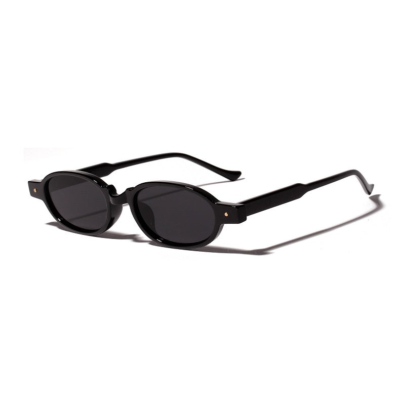 Oval Frame Small Sunglasses