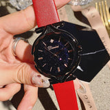 Starry Chassis Black Frame Women's Watch