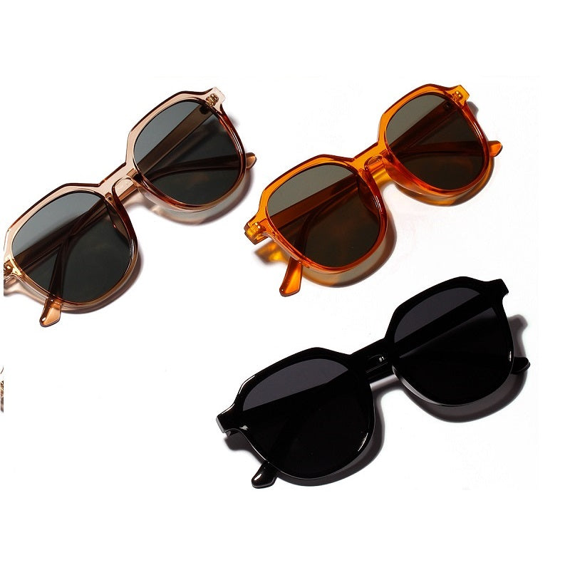 Transparent Large Frame Sunglasses