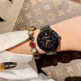 Star Chassis Stainless Steel Strap Women's Watch