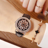 Fashion Snowflake Pattern Women's Watch