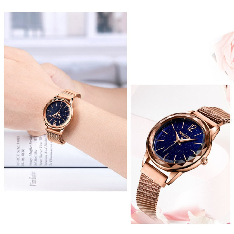 Dreamy Starry Dial Women's Watch
