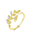 Olive Branch Open Ring