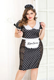 French Maid Cosplay Costume