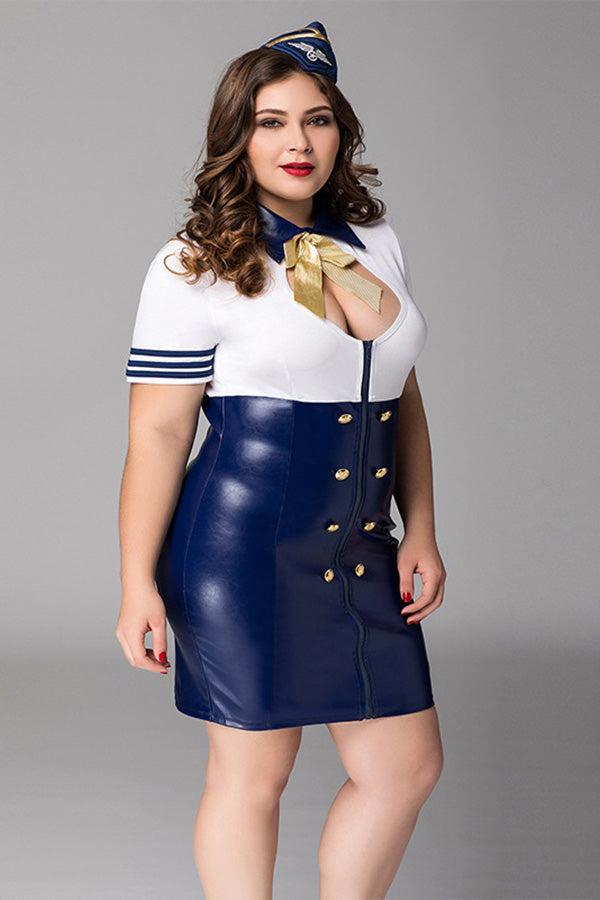 Flight Attendant Costume Outfit