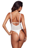 White Triangle Bodysuit