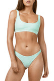 Light Blue Sporty Fashion Bikini Bathing Suit