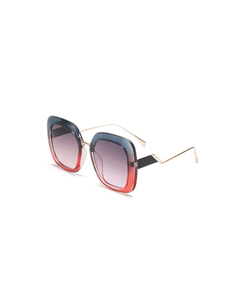 Gradient Large Frame Sunglasses