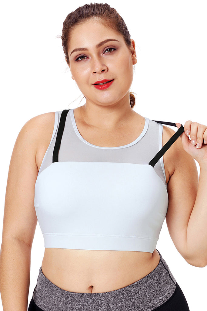 Strap Detail Yoga Crop Top