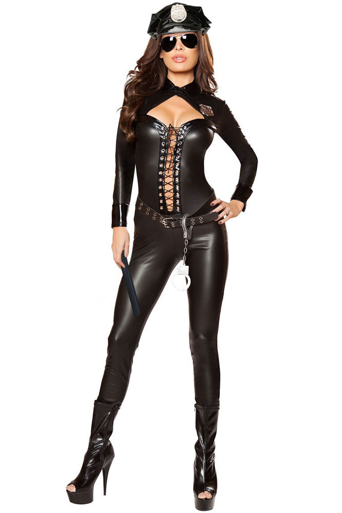 4pcs Frisky Officer Costume