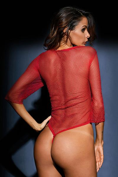 Ravishing Fishnet Teddy