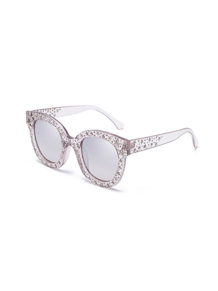 Full Diamond Five-pointed Star Sunglasses