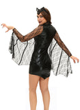 3pcs Sexy Moonlight Bat Halloween Costume