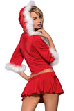 Santa Lady Christmas Fancy Dress Costume