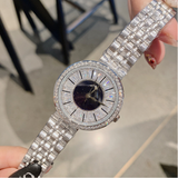 Women's watch diamond ultra-thin dial stainless steel strap elegant watch