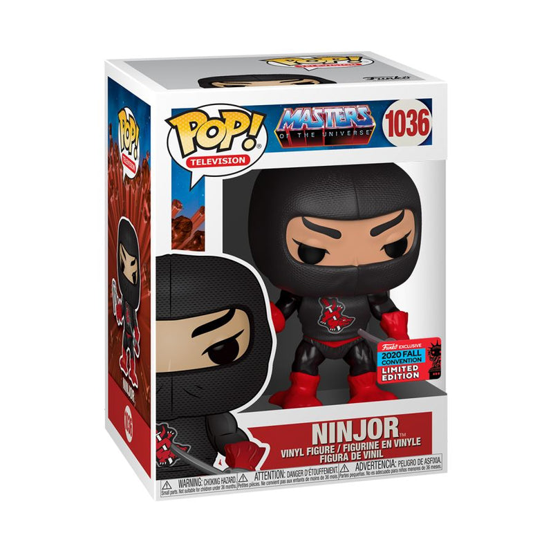 Masters of the Universe - Ninjor NYCC 2020 US Exclusive Pop! Vinyl [RS]