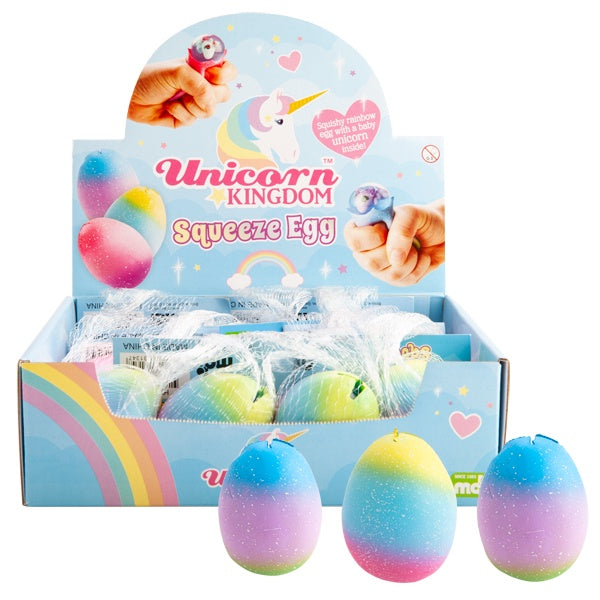 Unicorn Squeezy Egg