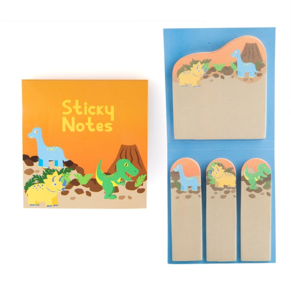 Blue Bilby Dinosaur Sticky Notes