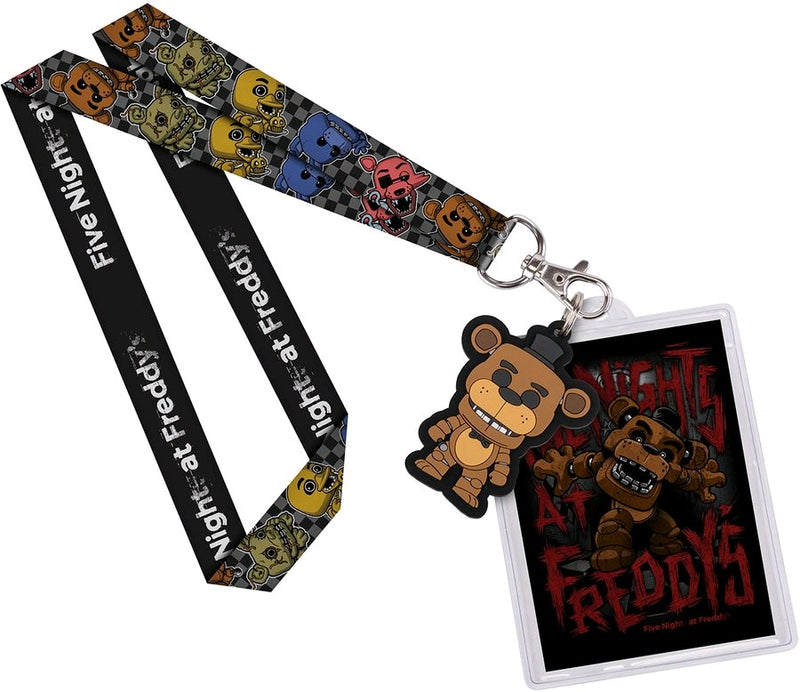 Five Nights at Freddy's - Freddy US Exclusive Lanyard with Backer Card