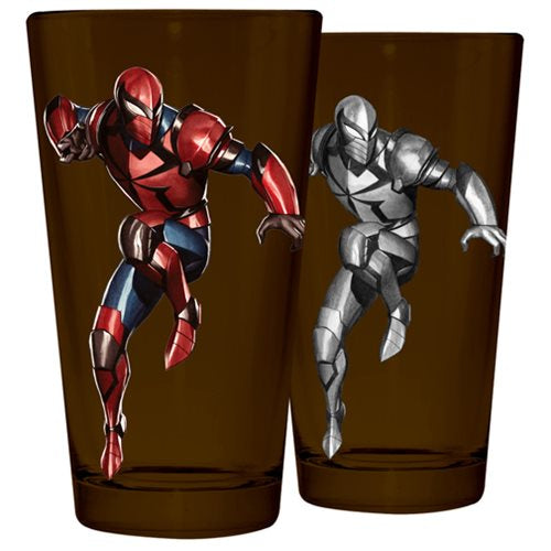 Spider-Man Armour Pint Glass Tumbler