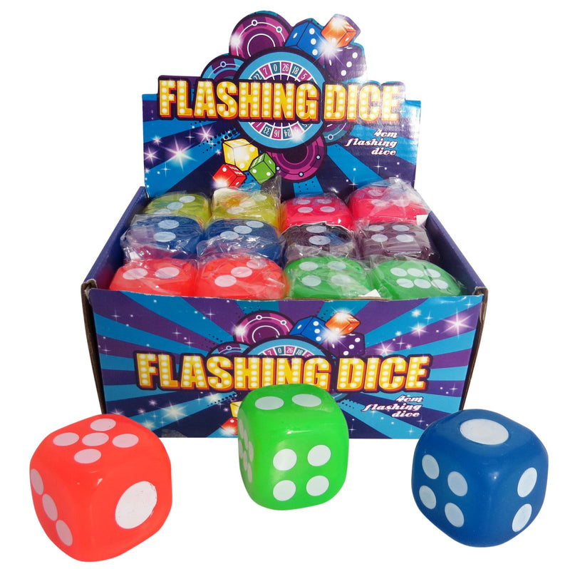 FLASHING DICE 4cm