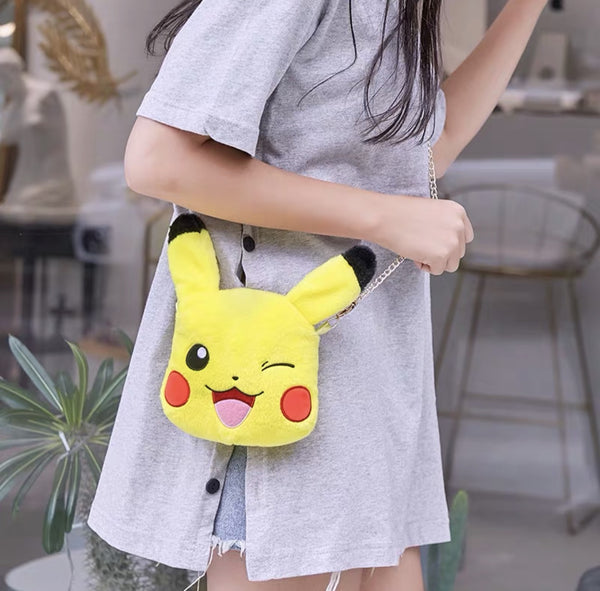 Pokémon Pikachu Face Side Bag