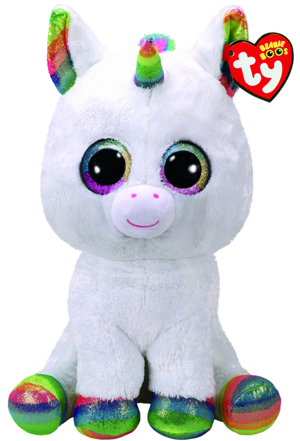 Beanie Boos Large Pixy White Unicorn
