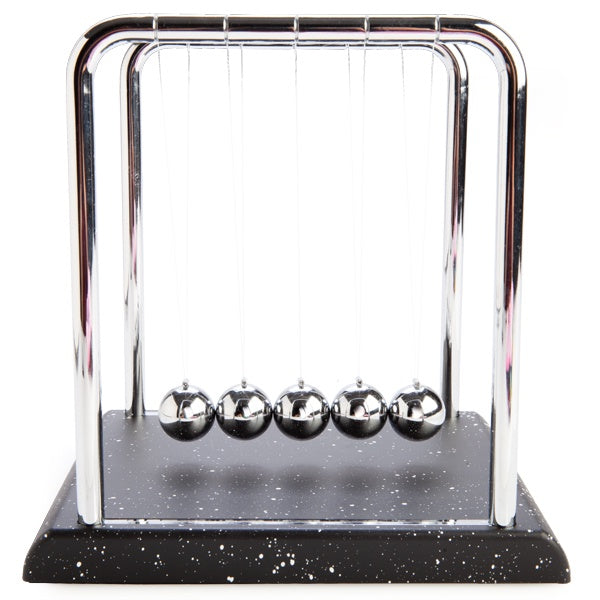 Newton's Cradle with Marble Base