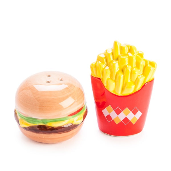 Burger & Fries Salt & Pepper Set