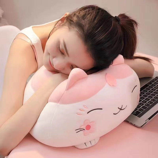 Sakura Cat Cushion