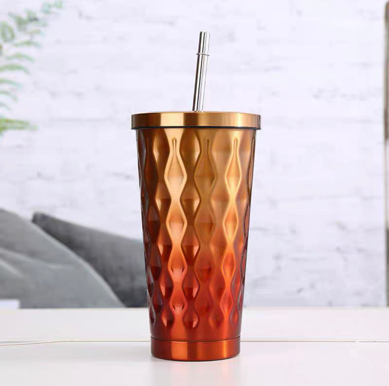Matrix S/S Travel Cup with Straw