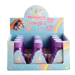 Unicorn Kingdom Poopie Purple Slime