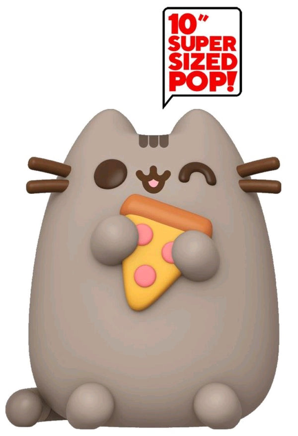 "Pusheen - Pusheen with Pizza US Exclusive 10"" Pop! Vinyl [RS]"