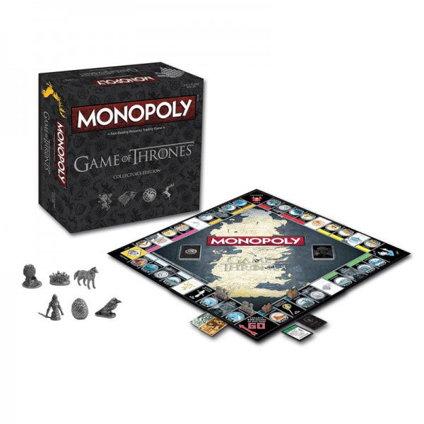 Monopoly Game of Thrones Collectors Edition Board Game