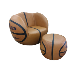 Basketball Swivel Chair with Ottoman (HLD/QY02)