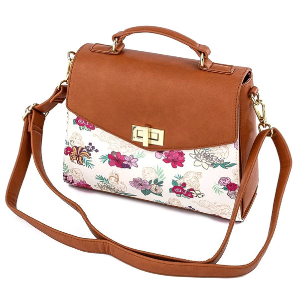 Disney - Princesses Floral Crossbody Bag
