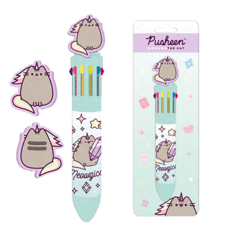 Pusheen Cute & Fierce 10 Colour Pen