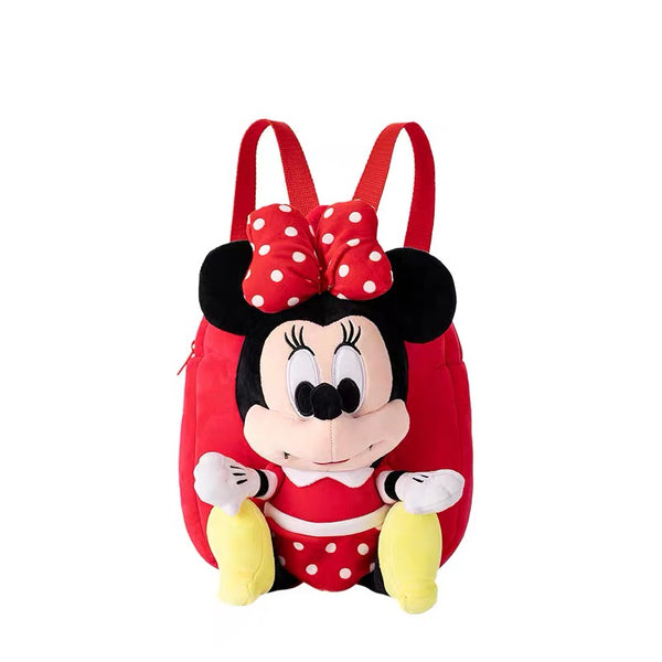 Disney - Minnie Mouse Plush Backpack