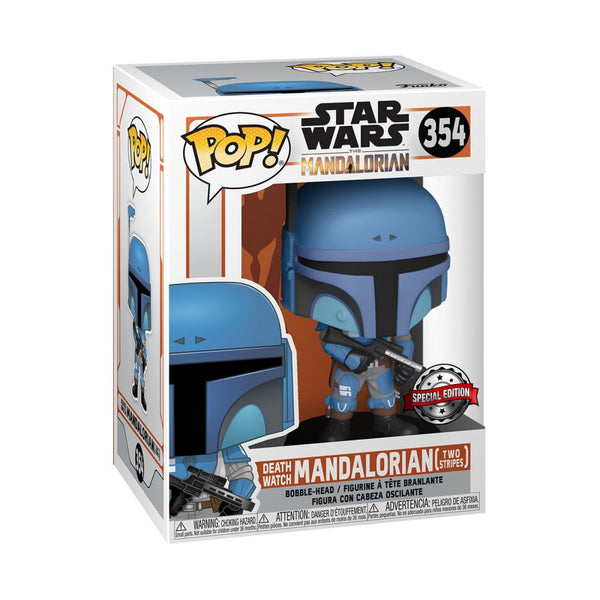 Star Wars: The Mandalorian - Death Watch Metallic US Exclusive Pop! Vinyl