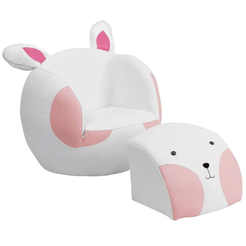 Rabbit Chair with Ottoman (HLD/K46)