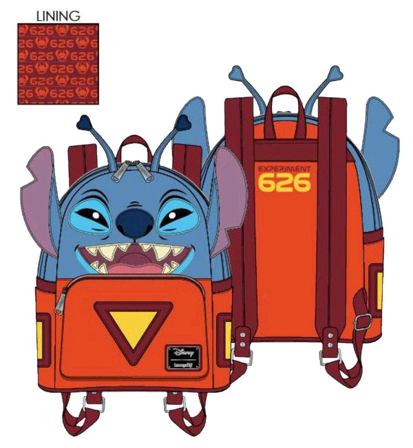 Lilo and Stitch - Experiment 626 Mini Backpack