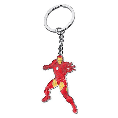 IRON MAN METAL KEY RING