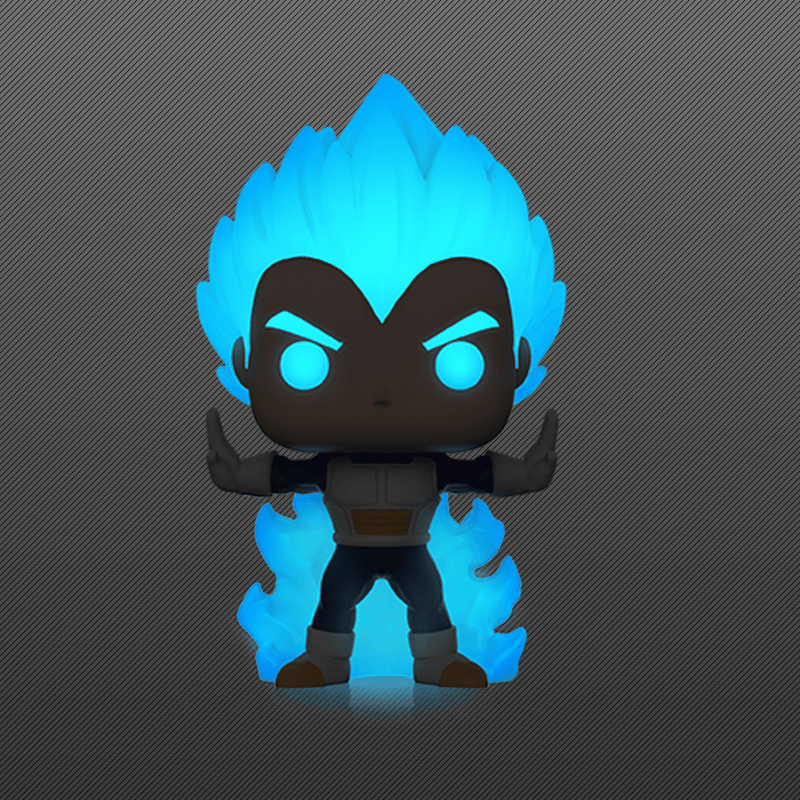 Dragon Ball Z - Vegeta Powering Up Glow US Exclusive Pop! Vinyl